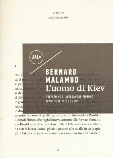 L'uomo di Kiev, di Bernard Malamud